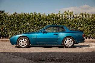 1990 Porsche 944 S2 Ultra rare Tuerkis Blue finish