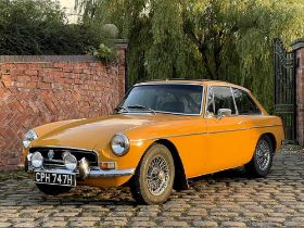 1970 MGB GT 53,700 miles and just five former keepers from new