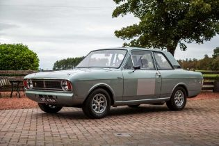 1969 Ford Cortina 'Lotus' Competition Saloon Powered by a 1598cc FIA-legal Lotus Twin-Cam with Twin