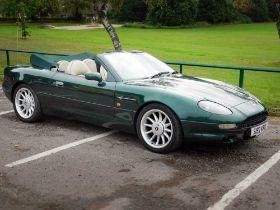 1998 Aston Martin DB7 Volante Prestige British tourer benefitting low miles & ownership