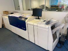 Xerox Versant 2100 Press digital press, Serial No: 3135300135 (2014), Colour click count: 6,037,976