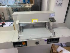 Ideal 5221-95EP 520mm paper guillotine, Serial No: 5220372 (age unknown)