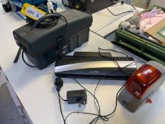 Convac 3000 CQ, small particle vacuum cleaner, Intey laminator, Rapid 5080 electronic contactless
