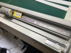 Evolution E2 wide format ultra precision rotary cutter, 260cm-1044 (mounted on bench)