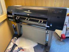 HP DesignJet Z6100 wide format color inket printer, Serial No: MY98K99005 (2011), (circuit board