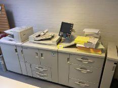 Ricoh Pro 1107EX mono digital printer/copier, Serial No: V5120800083 (2013), click count: 11,208,696