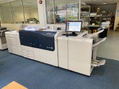 Xerox Versant 3100 Press digital press, Serial No: 3131469860 (2018), Color click count: 120,998