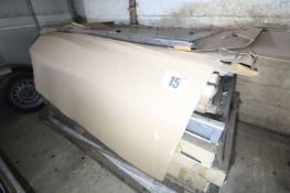 CONTENTS ON PALLET OF QUANTITY OF SHOWER DOORS (DOUBLE GLAZED) AND DOOR FRAMES, & HIGH WIDTH SHOP