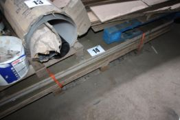 """CONTENTS ON BOTTOM PALLET OF PLYBOARD SHEET, 28MM THICK x 87"""" x 50"""". FORKLIFT CHARGE £8"""