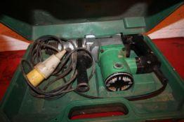 HITACHI 110V ROTARY HAMMER DRILL