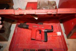 HILTI DX450 CARTRIDGE NAIL GUN AND BOX PARTS