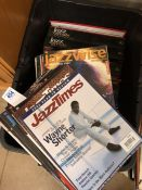 Collection of magazines to include Jazz Times, Jazz Greats and Jazzwise