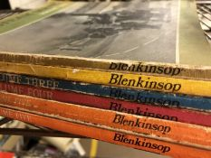 Collection of books by publisher Blenkinsob volumes 1 to 5, 'The Steam Scene'