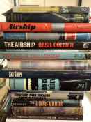 Collection of books relating to airships