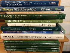 Collection of Hardback books relating to classic cars