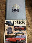 Collection of Hardback books relating to automobiles to include the Ford Century Centennial