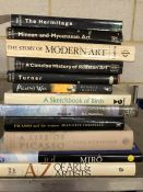 Collection of Hardback books relating to art and artists