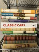 Collection of Hardback books relating to vintage vehicles
