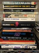 Collection of Hardback books relating to Jazz