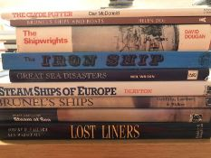 Collection of books relating to ships and shipwrights