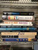 Collection of Hardback books relating to Jazz and Blues