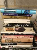 Collection of Hardback books relating to Jazz and the history of Jazz