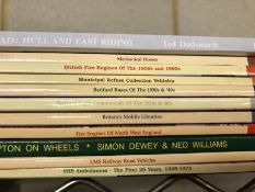 Collection of Hardback books relating to vintage vehicles, ten by publisher Nostalgia Road