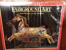 Single volume by Geoff Weedon and Richard Ward 'Fairground Art', publisher N C