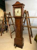 Grandfather clock by Robert Skelton of Malton.