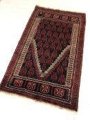 Baluchi rug approx 151cm x 92cm