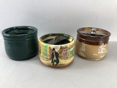 Three Royal Doulton Tobacco Jars A/F