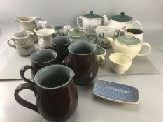 Collection of Pottery to include Susie Cooper, Denby & Studio Pottery by John Warren (Handmade at