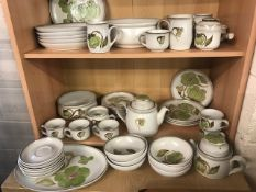 Collection of Denby dinner and tea ware