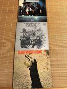 "3 British Blues LPs including original UK pressings of Fleetwood Mac ""Pious Bird Of Good Omen"" (Blue"