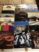 85 MISCELLANEOUS 70s & 80s ROCK / POP LPs inc. albums by Pink Floyd, David Bowie, Police, Moody