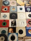 Collection of Vinyl 45's / singles to include Rolling Stones, Smokey Robinson, Helen Shapiro, Herb