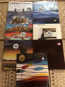 Collection of albums to include The Carpenters, Dire Straits, Al Stewart, Camel, Boston, The Beach