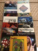 16 SEVENTIES ROCK / POP LPs inc. albums by Van Morrison, ELO, Tom Petty, Free, Bad Company, Paul