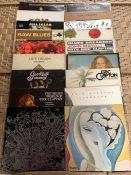 "18 Eric Clapton / Cream / Derek & The Dominoes / Blind Faith / Bluesbreakers LPs inc. ""Beano"""