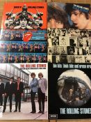 """6 Rolling Stones LPs including """"Rock N' Rolling Stones"""", """"Exile On Main Street"""", """"Black & Blue"""", """""""