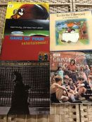 Six albums to include Cat Stevens x 2, Neil Young, Manu Dibango, Gang of Four and Barclay James