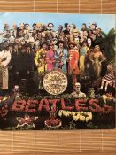 """The Beatles """"Sgt. Pepper's Lonely Hearts Club Band"""" LP. Original UK Parlophone first mono pressing"""