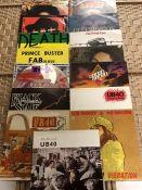 "15 Reggae LPs & 12"" inc. albums by Bob Marley ""Natty Dread"", ""Live"", ""Rastaman Vibration"", and """