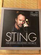 "Sting 4 LP box set ""The Studio Collection Volume II""."