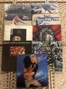 "9 Rod Stewart / Faces LPs inc. ""An Old Raincoat"" (UK orig Vertigo swirl label), ""Gasoline Alley"" (UK"