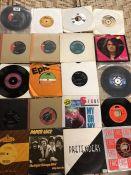 Collection of Vinyl 45's / singles to include Joe Brown, Pretenders, Slade, The Seekers etc