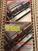 Two albums by the Beatles 'Please Please Me' and 'The Beatles 1962 - 1966'