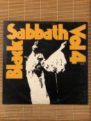 """Black Sabbath """"Vol. 4"""" LP on the Vertigo """"swirl"""" label 6360 071. Comes with attached booklet and"""