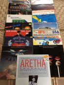 "17 Soul & Funk LPs & 12"" inc. 4 albums by Otis Redding ""Otis Blue"" (UK mono orig Atlantic), ""Sings"