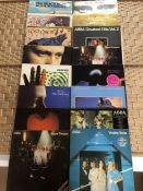 Collection of albums to include Phil Collins, Genesis, Dire Straits, ABBA, War of the Worlds and the